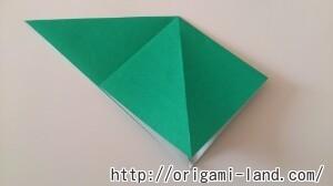 C 折り紙 バッタの折り方_html_762353c1