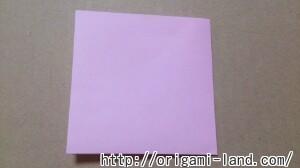 C 折り紙 しおり(パンダ・うさぎ・ハート)の折り方_html_98a08a