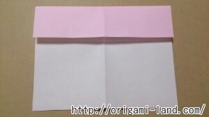 C 折り紙 しおり(パンダ・うさぎ・ハート)の折り方_html_m63292b7b