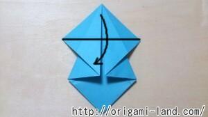 C 折り紙 人形(マトリョーシカ、こけし、福助)の折り方_html_7fae3043
