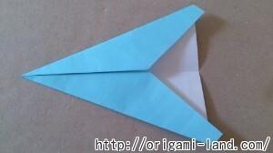 C 折り紙 飛行機の折り方_html_6f6eee1d