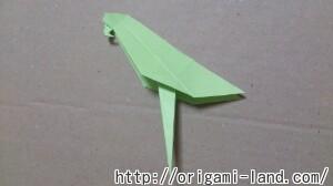 C 折り紙 インコの折り方_html_24bfff9a
