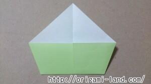 C 折り紙 インコの折り方_html_28995cea