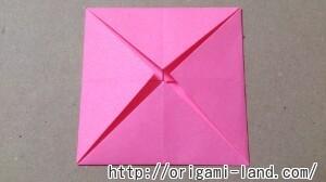C 折り紙 花(バラ・ダリア・すいせん)の折り方_html_63b3d433