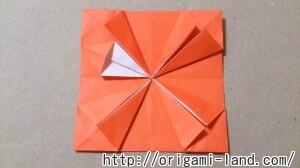 C 折り紙 花(バラ・ダリア・すいせん)の折り方_html_762f1062