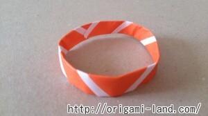 C 折り紙 ブレスレットの折り方_html_33df7438
