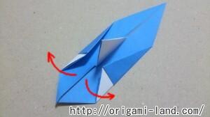 C 折り紙 ボートの折り方_html_57478695