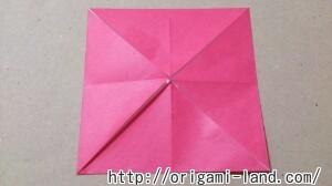 C 折り紙 花(バラ・ダリア・すいせん)の折り方_html_4afa4c70