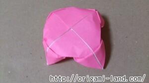 C 折り紙 花(バラ・ダリア・すいせん)の折り方_html_m77734559