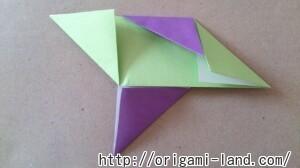 C 折り紙 遊べる折り紙(めんこ・紙でっぽう・手裏剣)の折り方_html_m7f2f7937