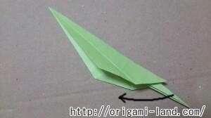 C 折り紙 インコの折り方_html_4c7238e