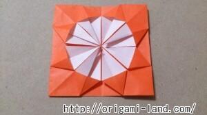 C 折り紙 花(バラ・ダリア・すいせん)の折り方_html_653b2ea9