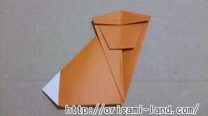 C 折り紙 さるの折り方_html_2f7ce9e8