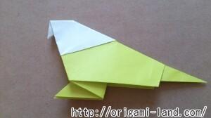 C 折り紙 インコの折り方_html_25ee28b1