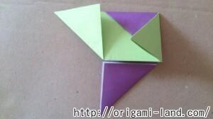 C 折り紙 遊べる折り紙(めんこ・紙でっぽう・手裏剣)の折り方_html_m348e9123