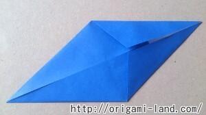 C 折り紙 くじらの折り方_html_32185f37