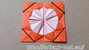 C 折り紙 花(バラ・ダリア・すいせん)の折り方_html_7efac8c3