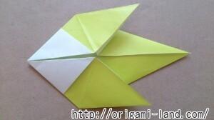 C 折り紙 インコの折り方_html_73402313