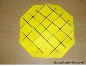 1パイナップル2折り方4